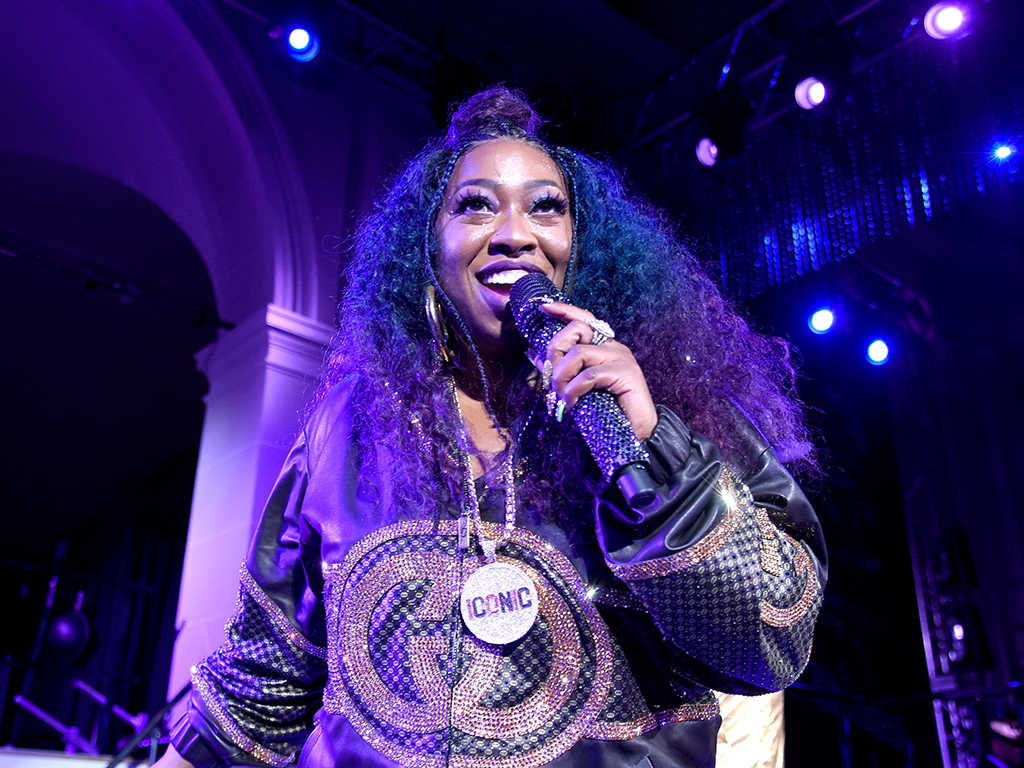 Missy Elliott performs her chart-topping hits at the Yellow Ball in the Brooklyn Museum on Sept. 10, 2018, in New York City.