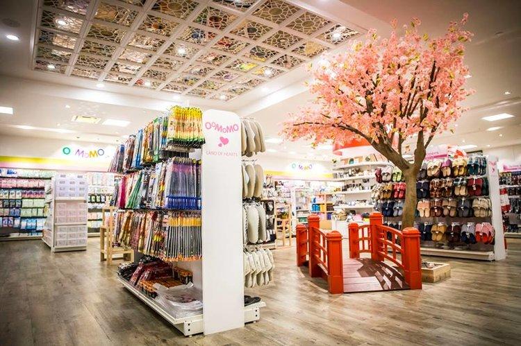 An Oomomo store.