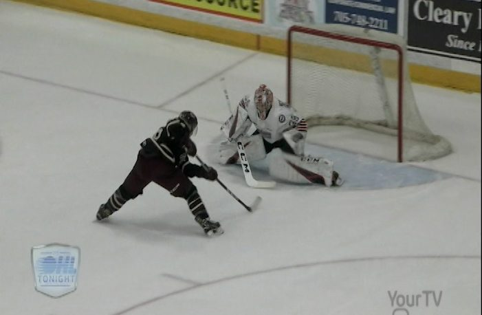 The Oshawa Generals earned a 6-5 OT win over the Peterborough Petes on Thursday.