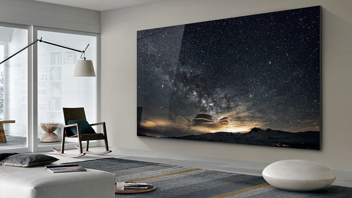 Samsung unveils ridiculously large 219-inch TV, nicknamed 'The Wall' - image
