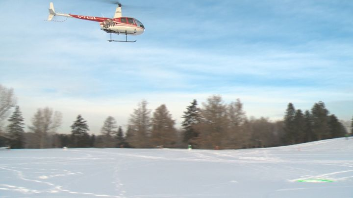 Edmontonians can take helicopter rides at this year's Silver Skate Festival.
