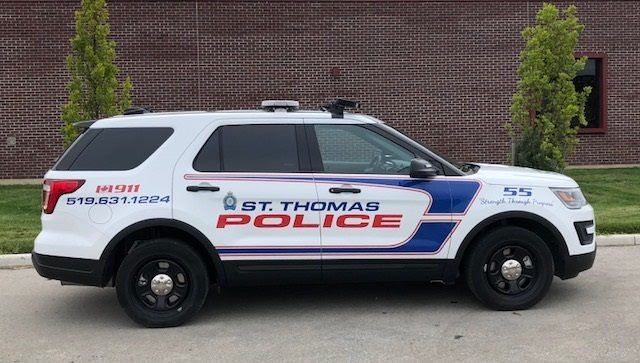 St. Thomas police have charged a 25-year-old man with sexual assault following an investigation.
