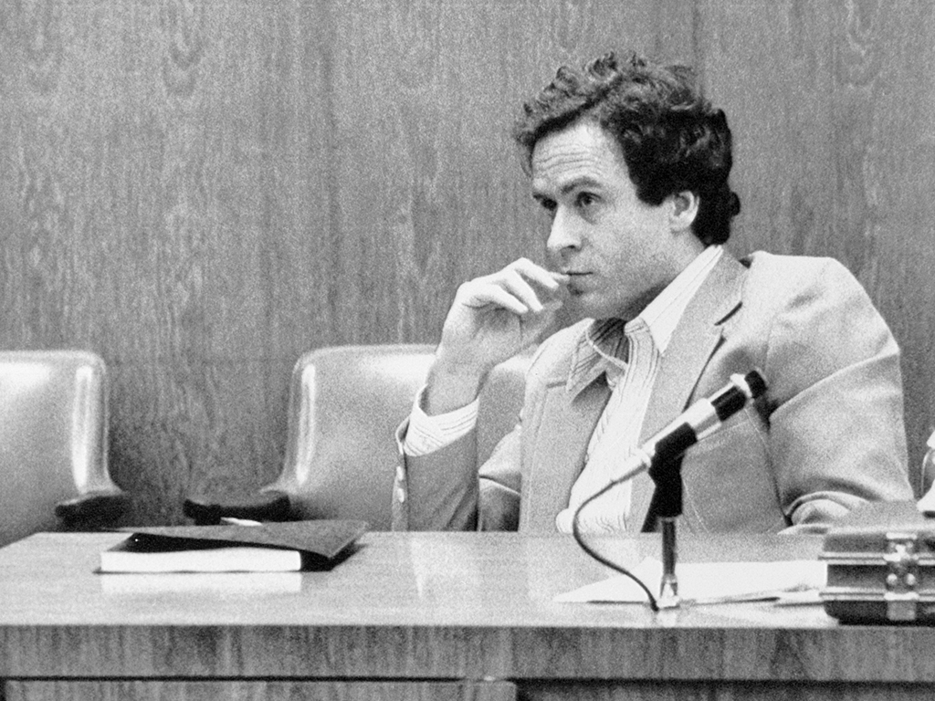 Theodore Bundy watches intently during the third day of jury selection at his trial in Orlando for the murder of 12-year-old Kimberly Leach.