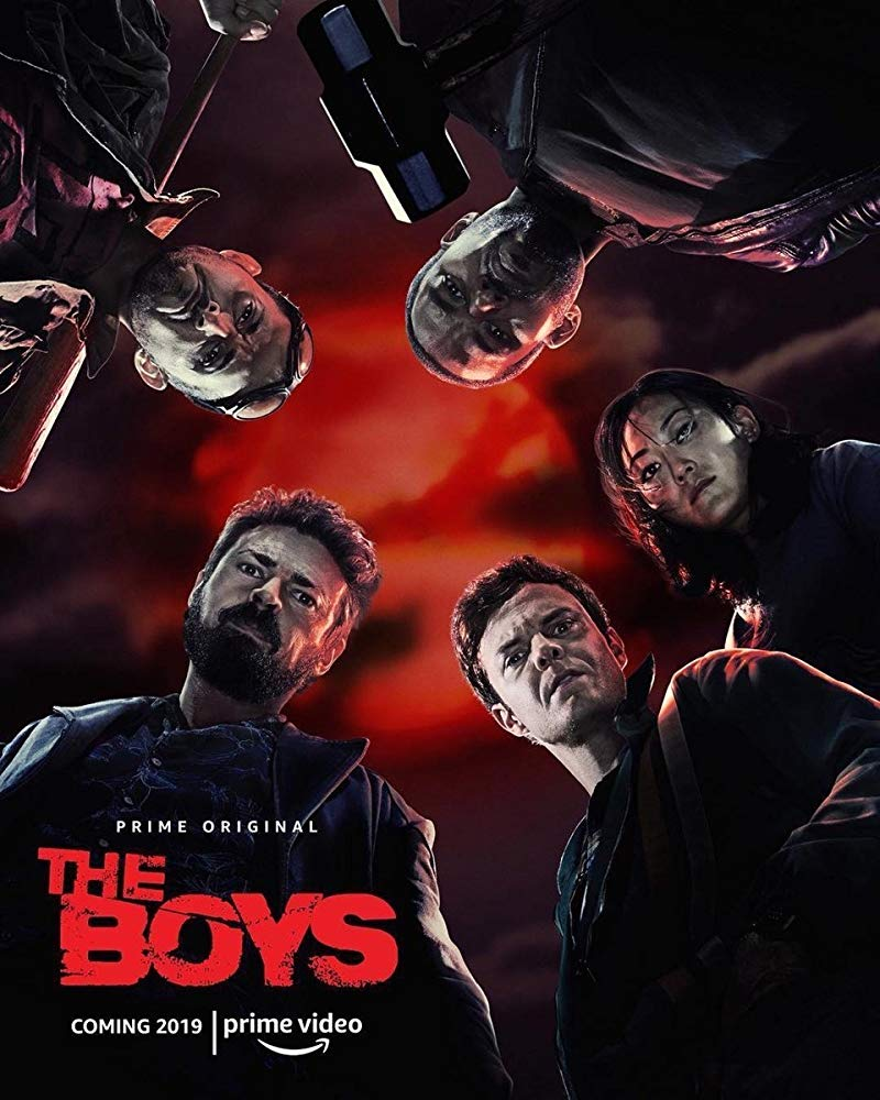 'The Boys' was partially shot in Hamilton last year.