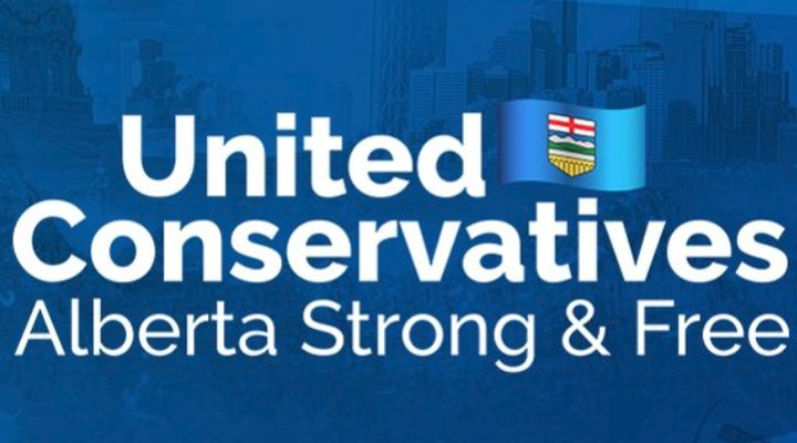An image is shown that appears on the UCP Twitter account.