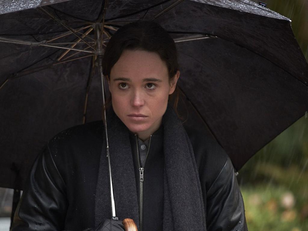 Ellen Page stars in Netflix's new series, The Umbrella Academy.