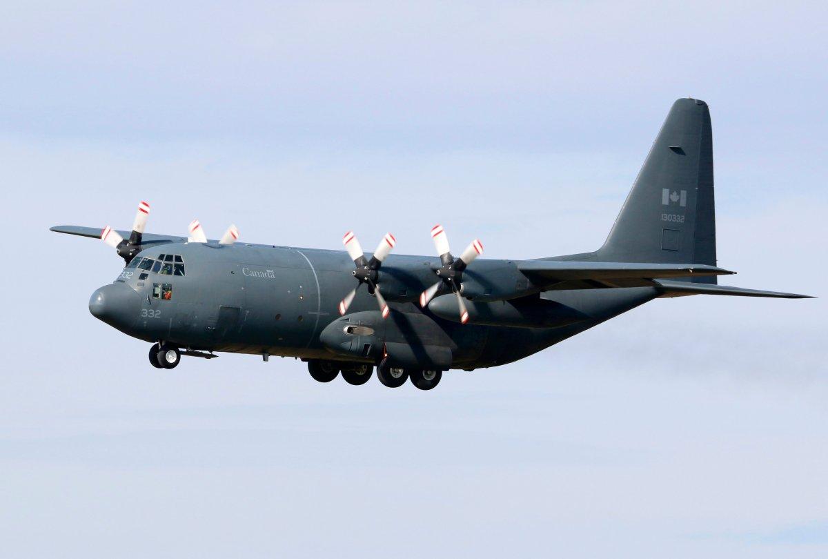 File photo: A C-130H Hercules transport.