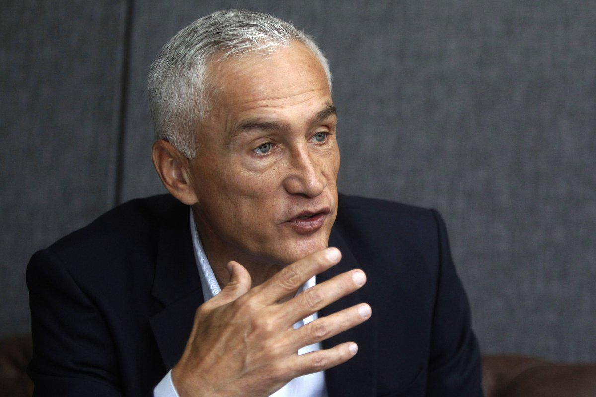 Journalist Jorge Ramos speaks during an interview in Medellin, Colombia, 29 September 2017.