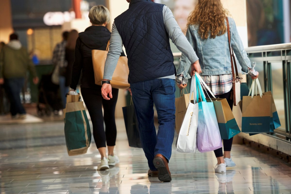 Canadian retail sales remained mostly flat in April, according to StatCan.