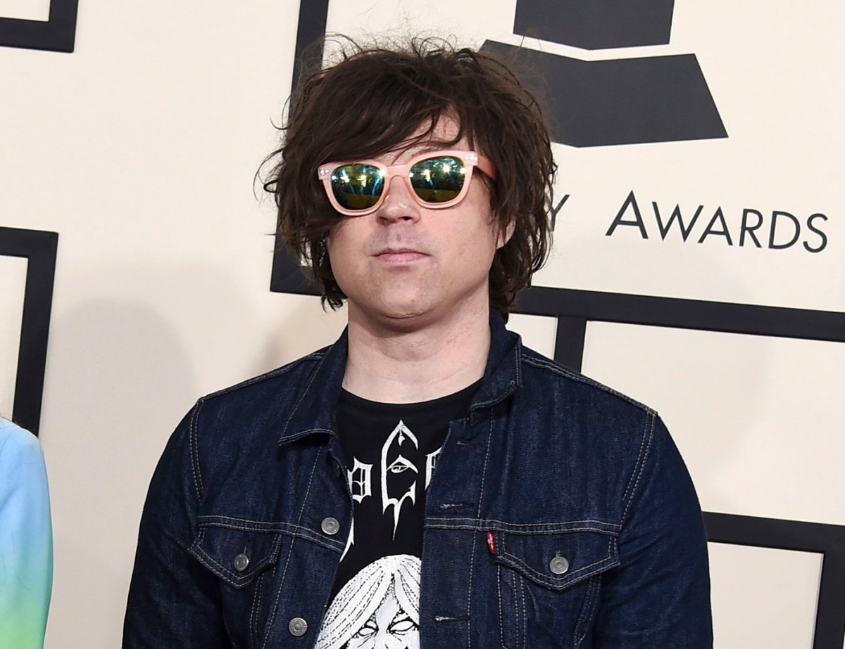 In this Feb. 8, 2015 file photo, Ryan Adams arrives at the 57th annual Grammy Awards in Los Angeles.