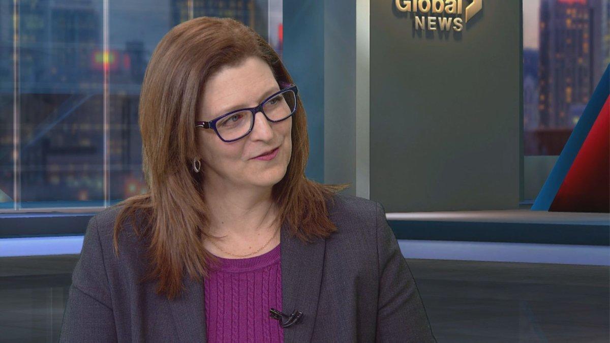 Angela Mancini visits 'Global News Morning.'.