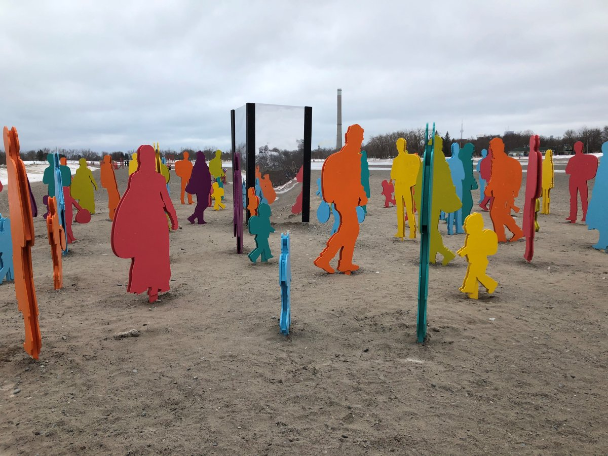 Ashbridge's Bay art installations wow beach goers for another year - image