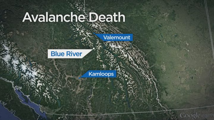 A man has died in an avalanche in eastern B.C.