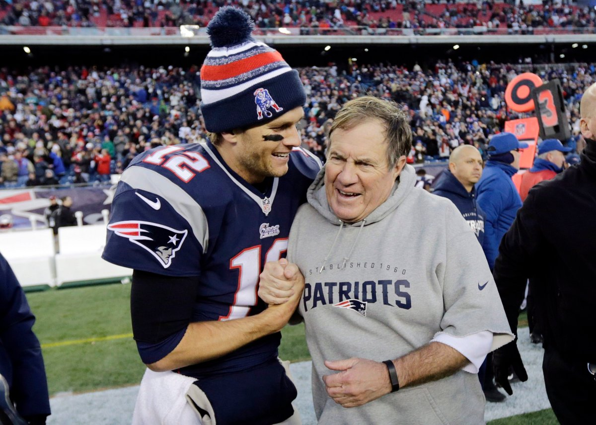 Quarterback Tom Brady, left, and head coach Bill Belichick have made the New England Patriots the envy of the National Football League.