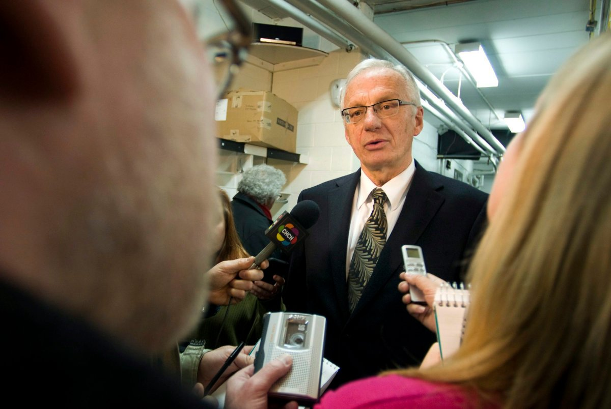 Two steelworkers unions claim that Hamilton East-Stoney Creek MP Bob Bratina used strong language during a visit to the MP's office in Ottawa.