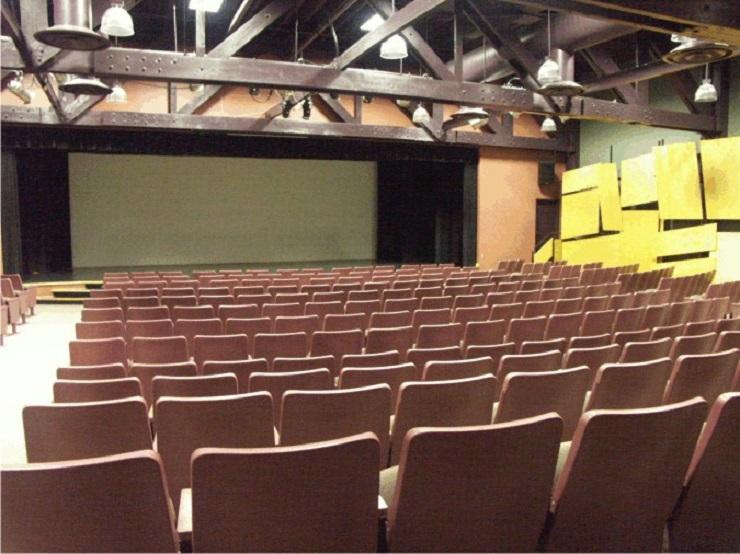 Undated photo of auditorium inside Lester B, Pearson Civic Centre, taken from City of Elliot Lake's website.