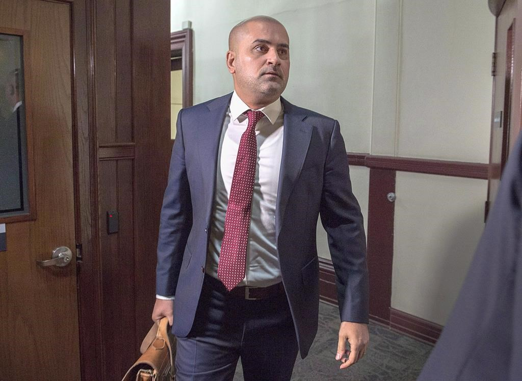Former taxi driver Bassam Al-Rawi arrives at provincial court in Halifax on Monday, Jan. 7, 2019 for his trial on a charge of sexual assault.