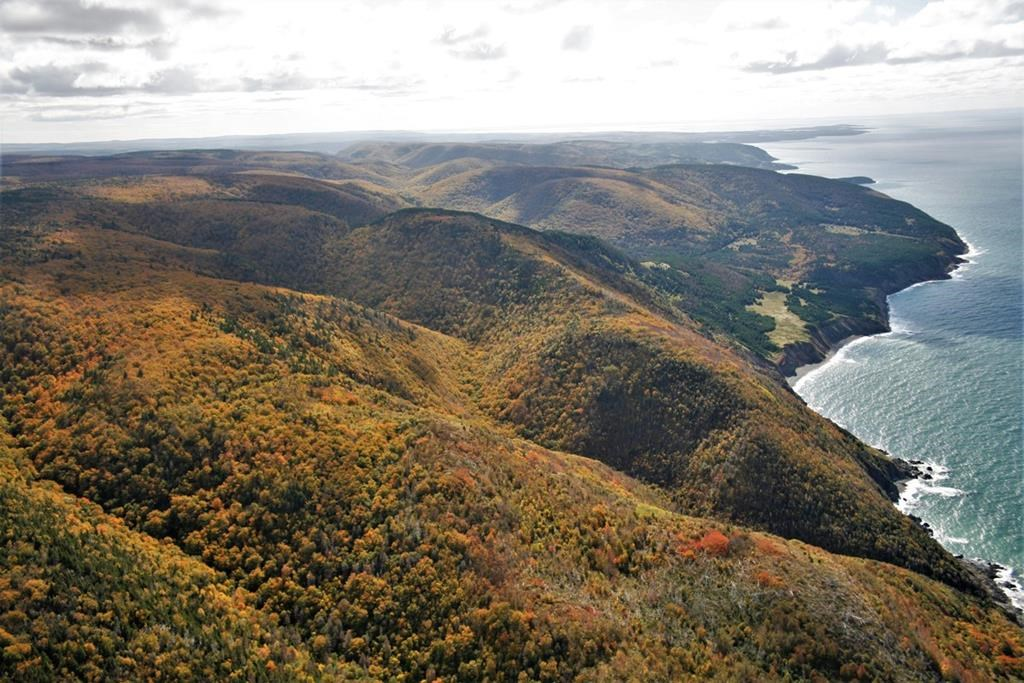 The Mabou Highlands in Nova Scotia is seen in this undated handout photo.
