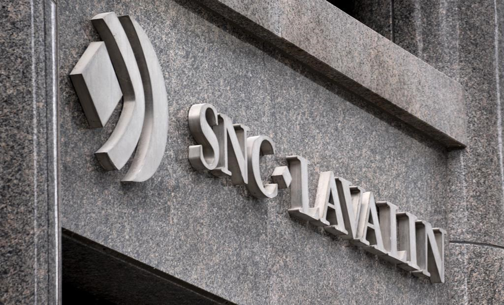 The SNC-Lavalin headquarters is seen in Montreal on February 12, 2019. THE CANADIAN PRESS/Paul Chiasson.
