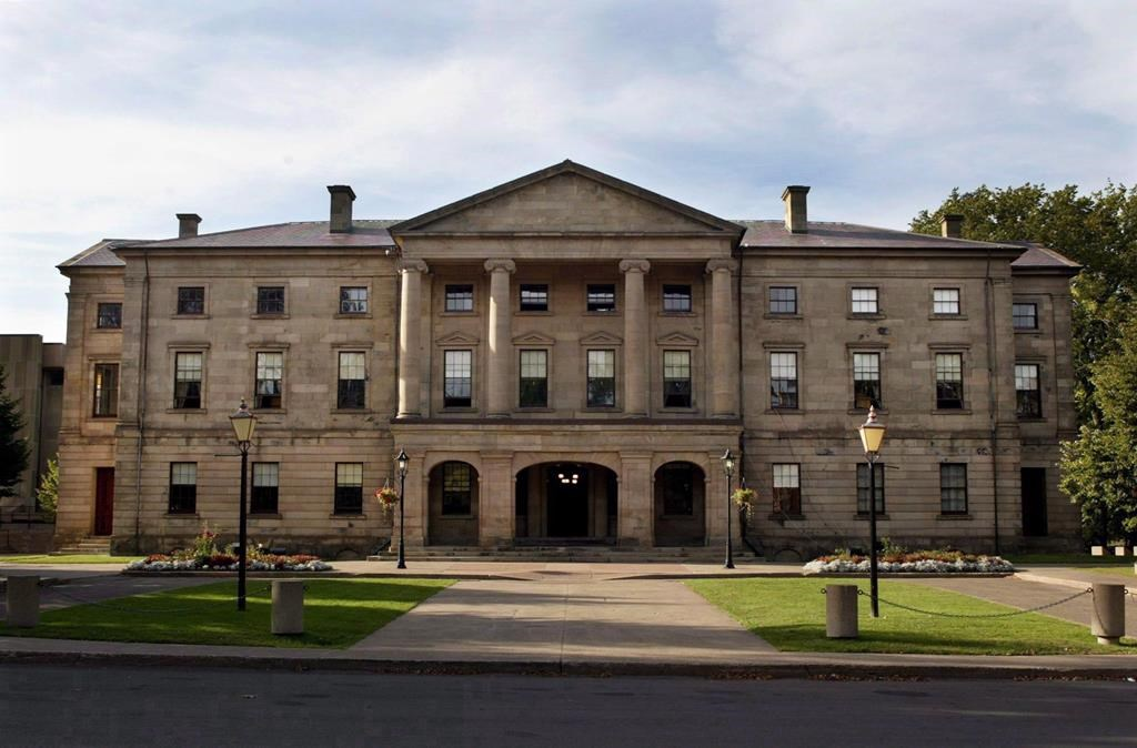 The Prince Edward Island legislature in Charlottetown on Sept. 25, 2003.