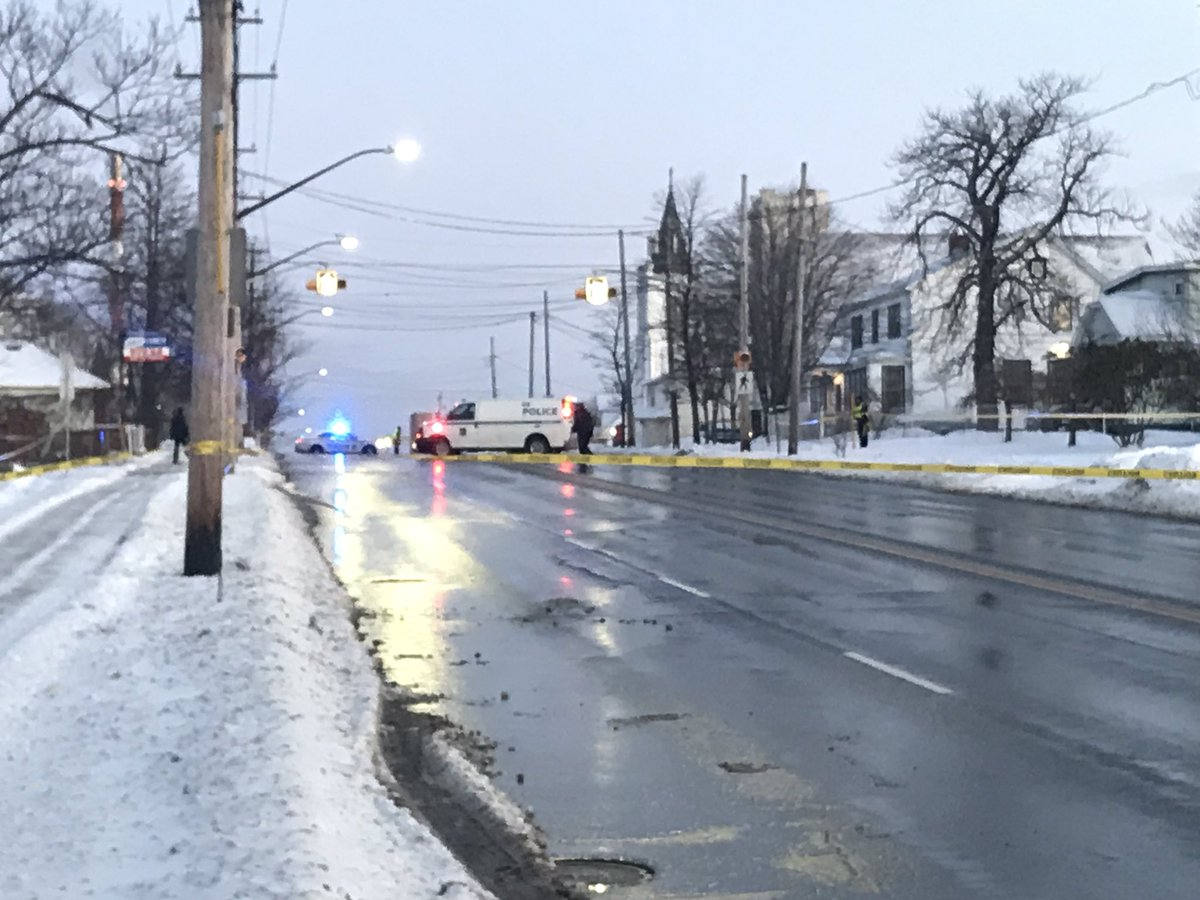 A 57-year-old pedestrian was killed in a collision on Pleasant Street in Dartmouth Friday morning.