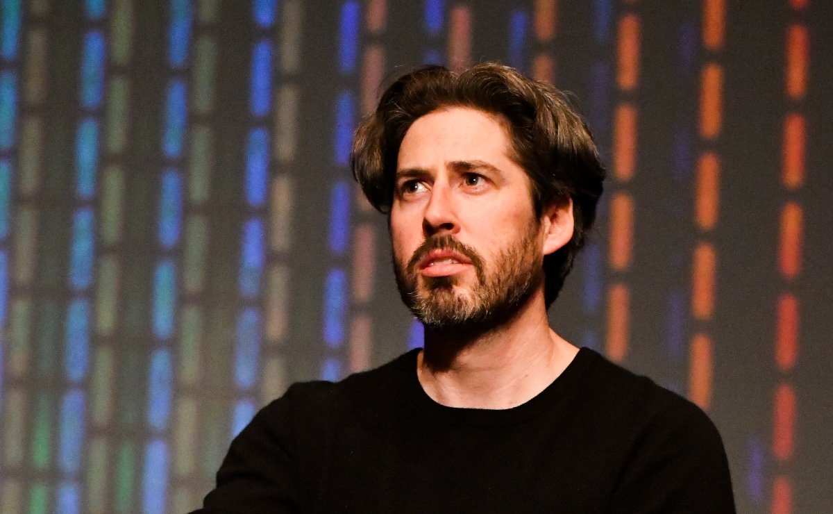 Director Jason Reitman speaks at the MoMA Contenders 2018 Screening and Q&A of 'The Front Runner' at Hammer Museum on Dec. 11, 2018, in Los Angeles, California.