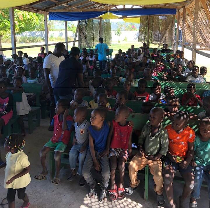 Hope Grows Haiti charity is seeing more children as road access has been cut off during civil unrest in the country.