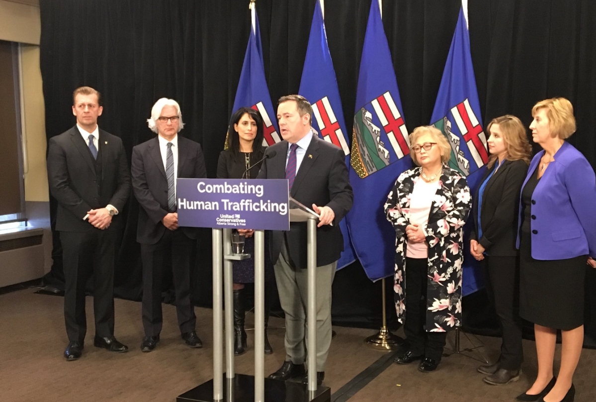 According to Statistics Canada, there have been 90 human trafficking violations in Alberta between 2009 and 2016.