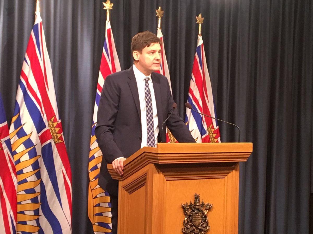 Attorney General David announces changes to expert reports for ICBC cases on February 11, 2019.