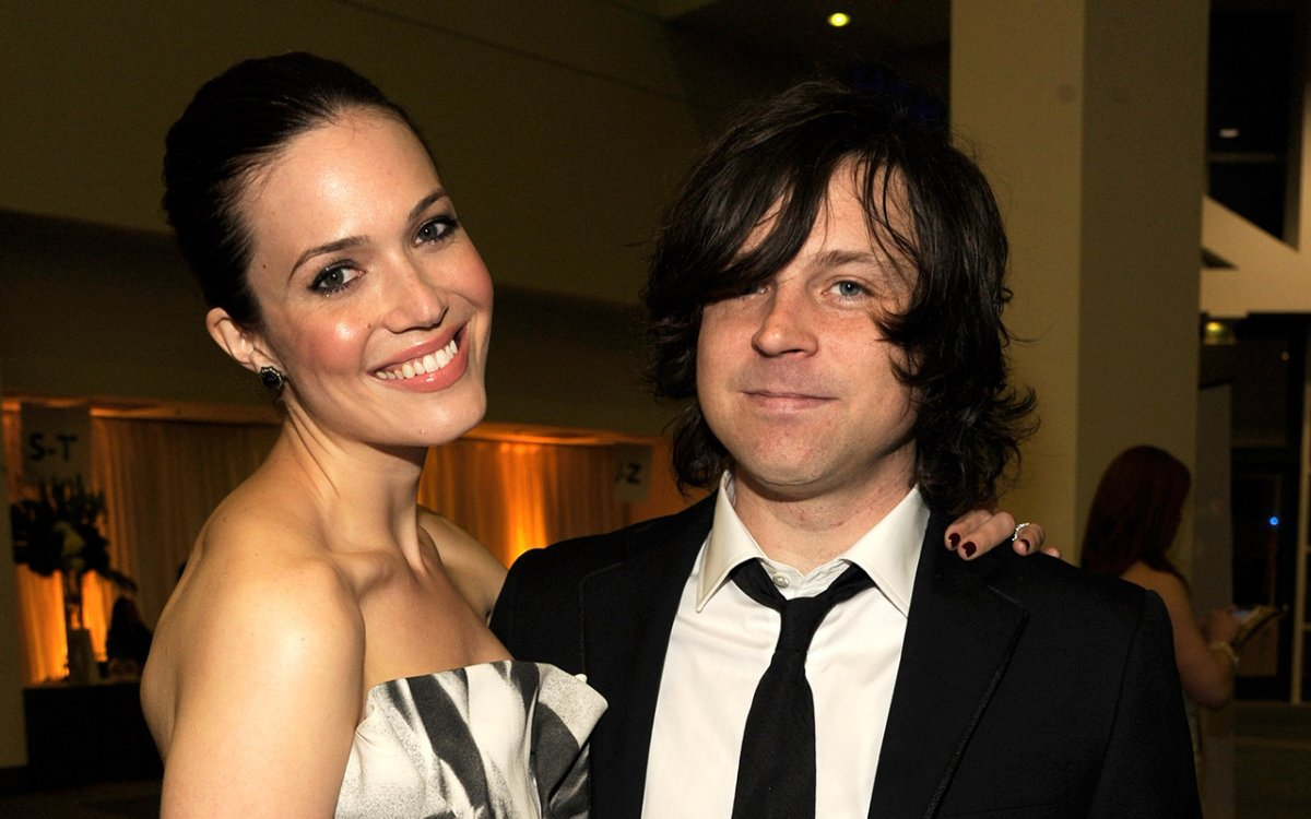 Mandy Moore and Ryan Adams attend The 2012 MusiCares Person Of The Year Gala Honouring Paul McCartney at Los Angeles Convention Center on Feb. 10, 2012, in Los Angeles, California.