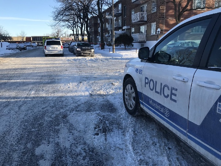 Police are investigating the 2nd homicide of 2019 on Montreal police territory. Friday, Feb. 1, 2019.