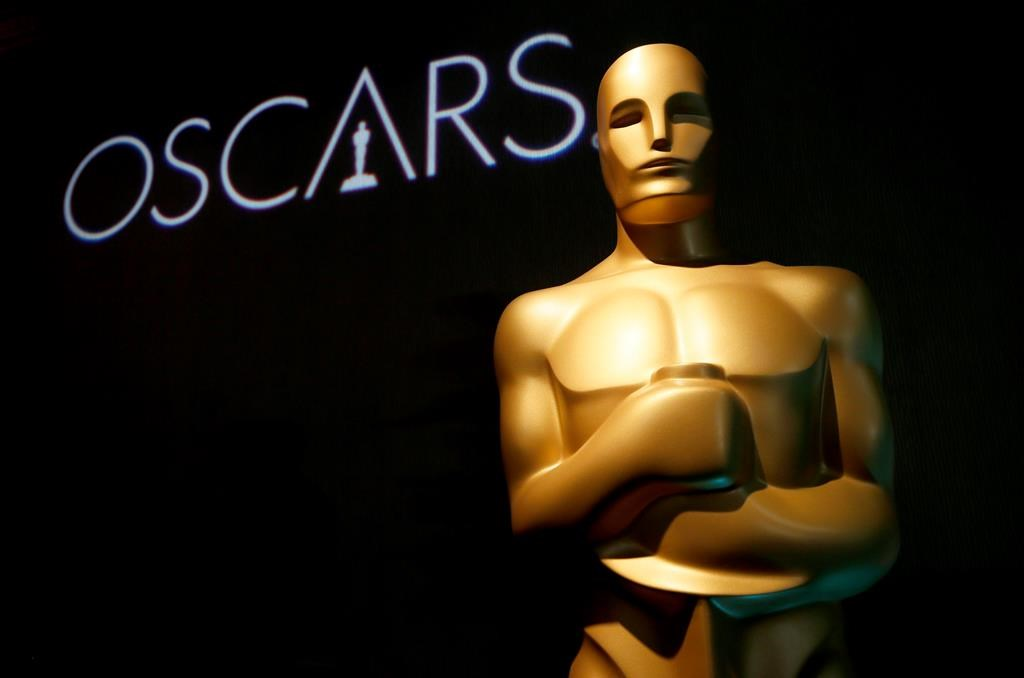 In this Feb. 4, 2019 file photo, an Oscar statue appears at the 91st Academy Awards Nominees Luncheon in Beverly Hills, Calif.