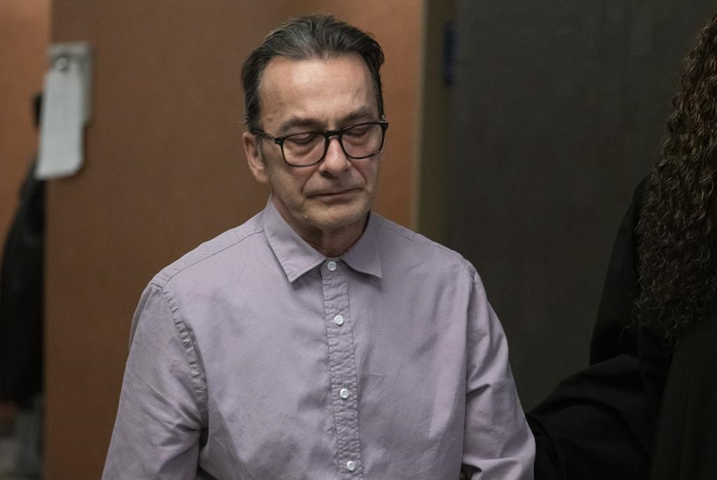 Michel Cadotte, accused of murder in the 2017 death of his ailing wife in what has been described as a mercy killing, returns to the courtroom to testify in Montreal.