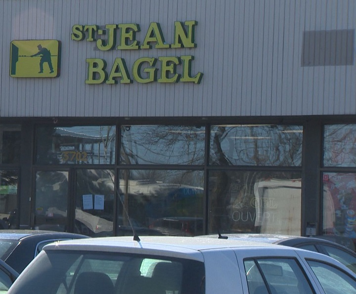 No illnesses have been reported in connection with the targeted foods, but MAPAQ is warning against eating products from Saint-Jean Bagel. Saturday, Feb. 9, 2019.