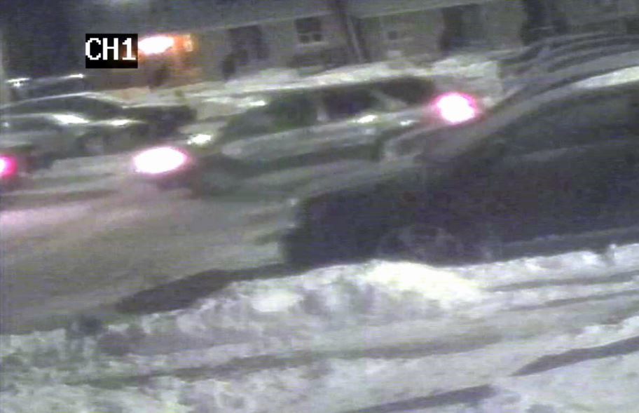 Waterloo Regional Police are looking for information regarding the SUV in this photo.