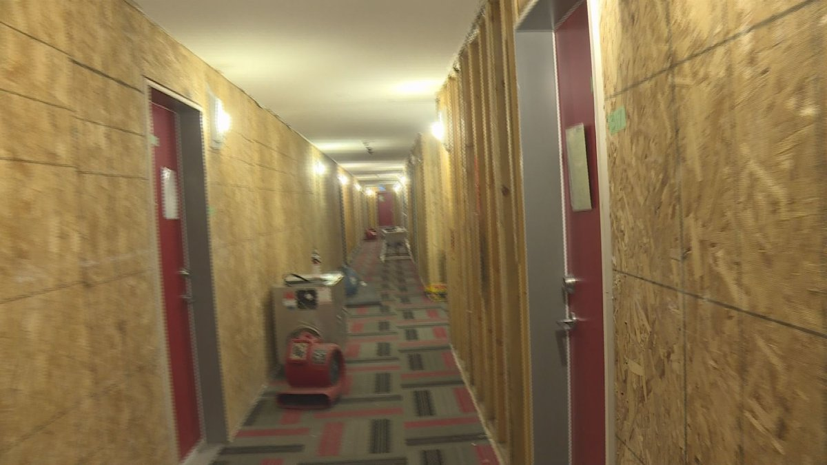 Dozens of UBC Okanagan students are being forced out of their homes after a flood on Feb. 4.