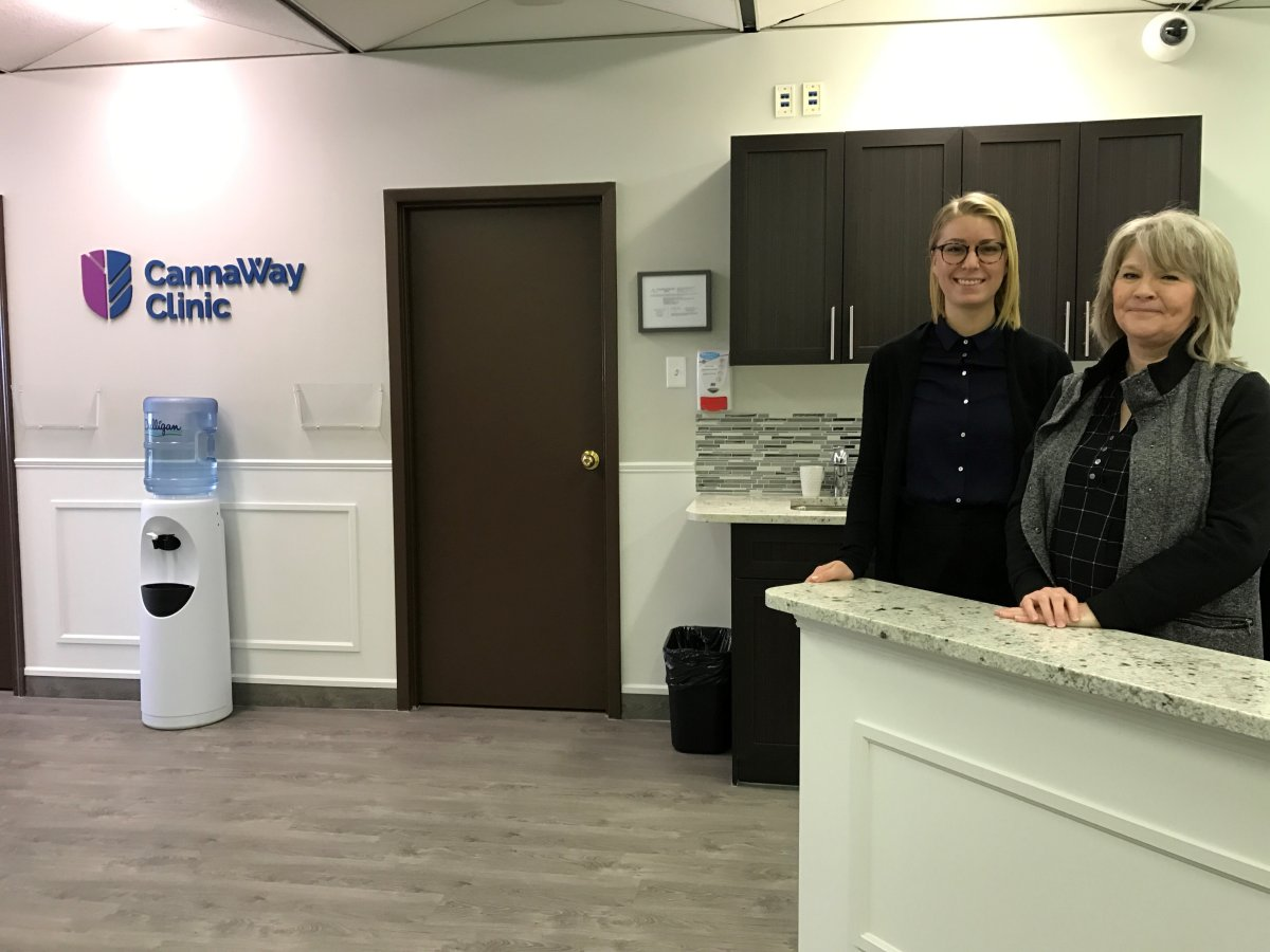 The Winnipeg medical cannabis clinic is pictured.