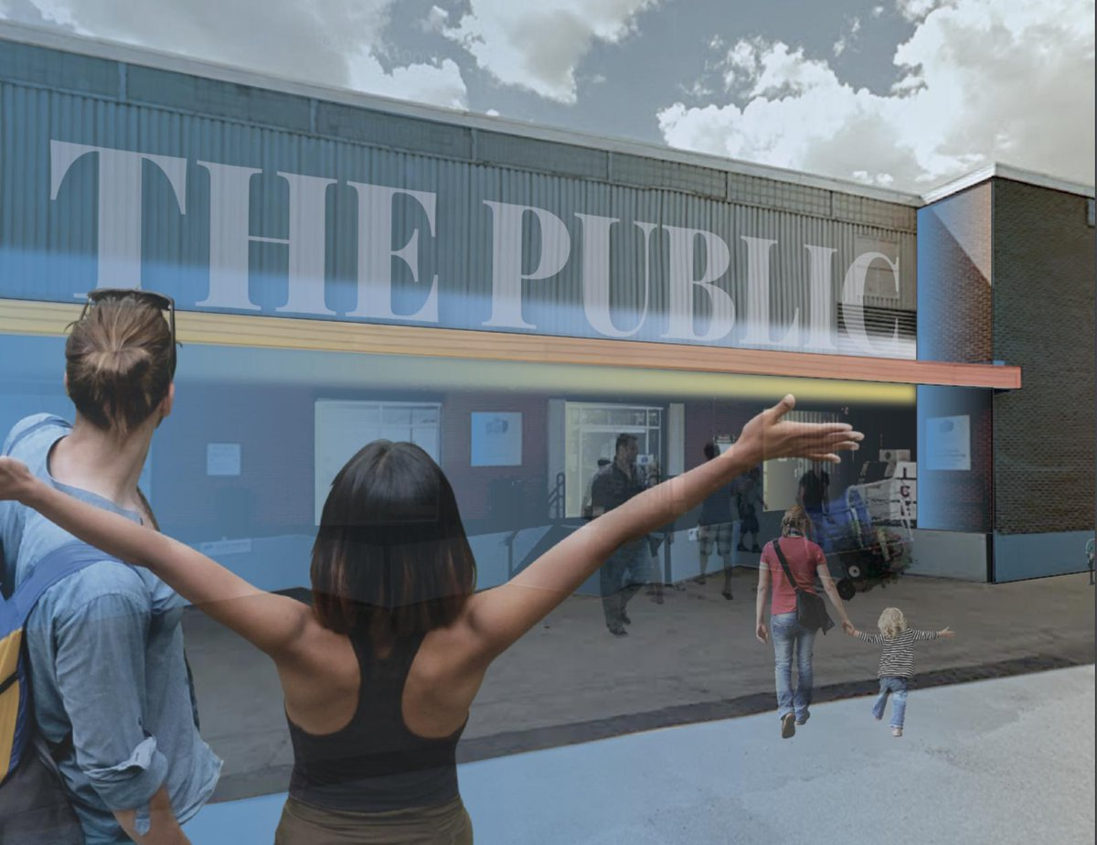 The Public food incubator will be located in a warehouse near 107 Street and 106 Avenue.