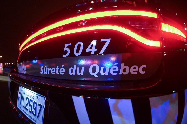 A file photo of a Sûreté du Québec police cruiser.