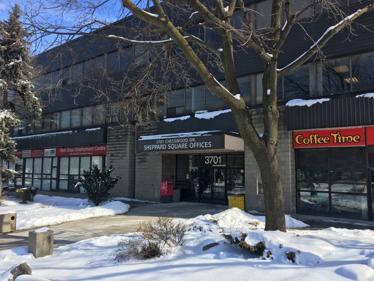 The office of the Anatolia Cultural Foundation is located in this Toronto building.