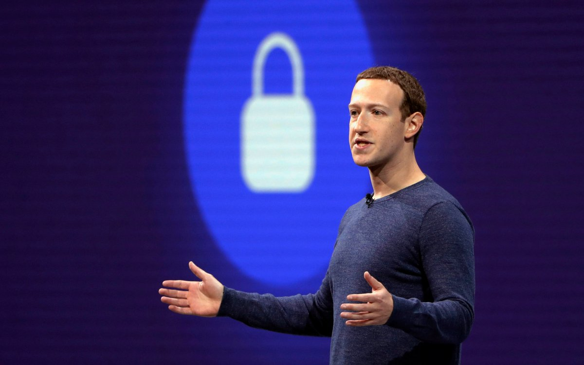 In this May 1, 2018, file photo, Facebook CEO Mark Zuckerberg delivers the keynote speech at F8, Facebook's developer conference in San Jose, Calif.