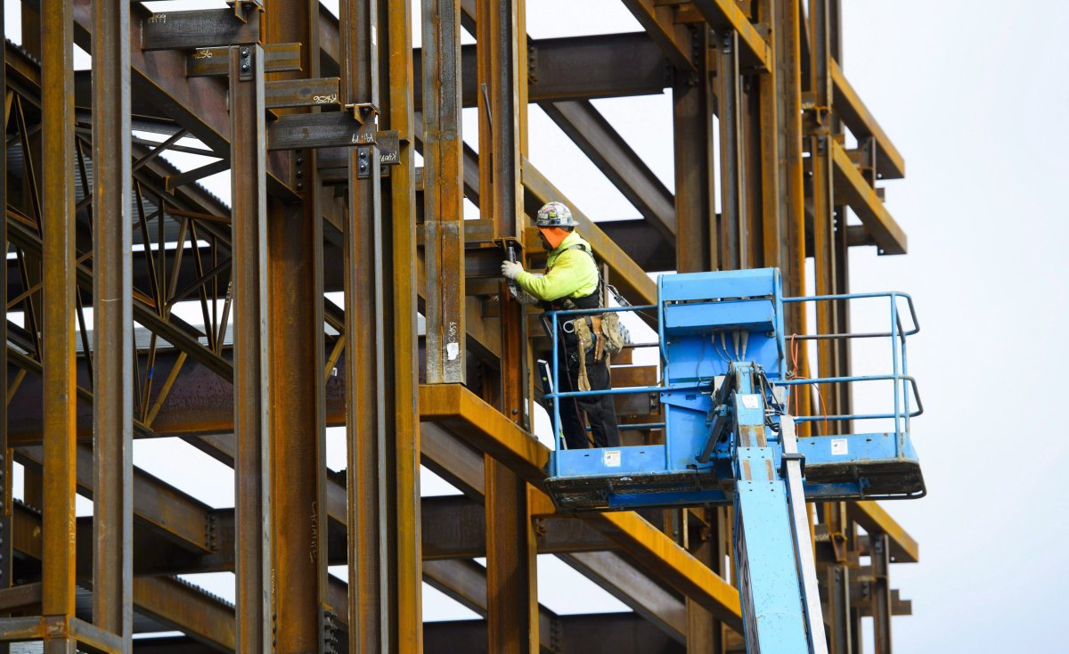 The Canadian economy posted a net gain of 55,900 jobs, all of which were full time, in February.