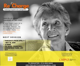 Continue reading: ReCharge: Training for Caregivers – Longueuil