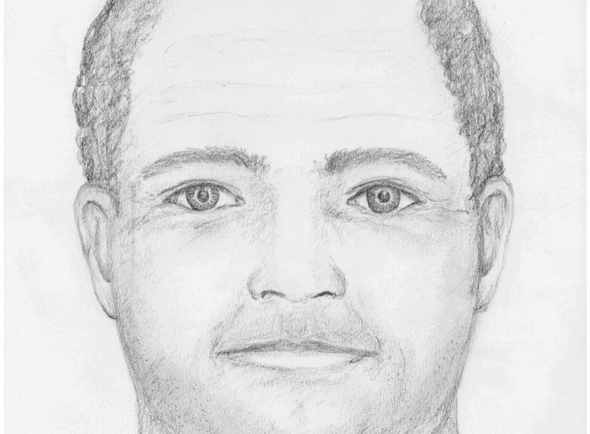 Part of the composite sketch of the alleged suspect of a sexual assault on a woman in North Vancouver.