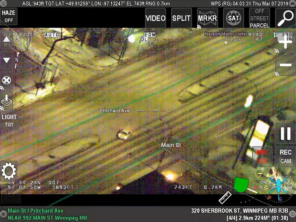 A still from the AIR 1 surveillance video.
