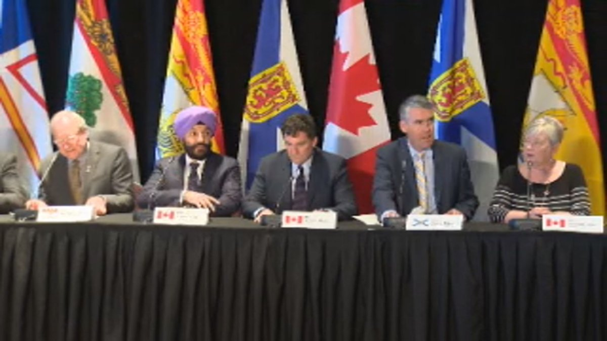 Federal Immigration Minister Ahmed Hussen made the announcement Friday in Halifax during a meeting of premiers and ministers concerning the Atlantic Growth Strategy.