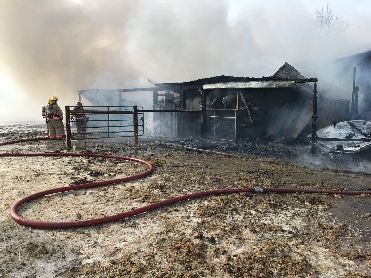 Norfolk County barn destroyed by fire - Hamilton ...