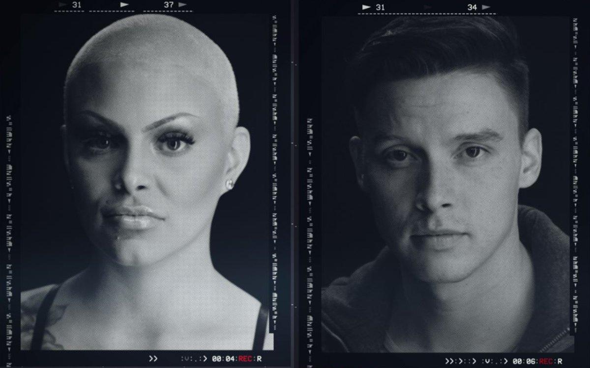 (L-R): Laura Roberts and Damien Ketlo.