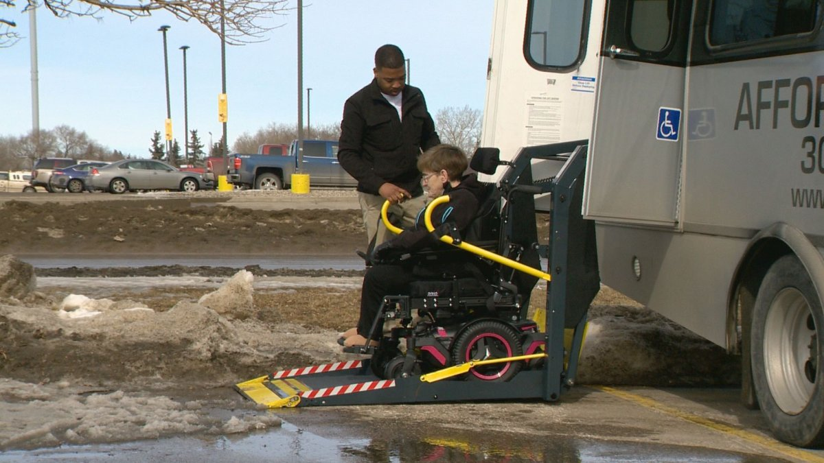 Affordable Rides provides rides to and from Regina, Saskatoon and Prince Albert, making it easier for those living disabilities to get around the province.