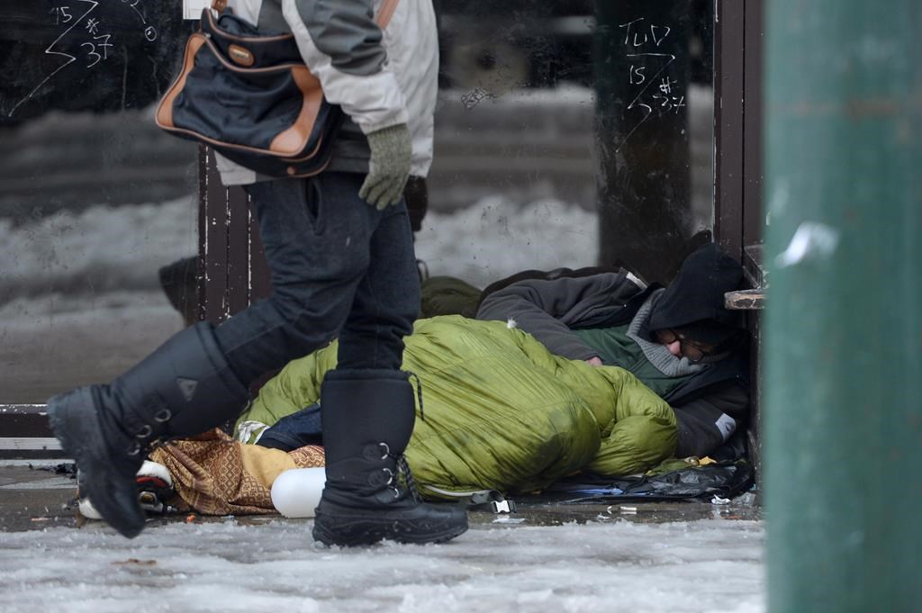 More than 80 per cent of the homeless population were found living downtown or in the Downtown Eastside, where 62 per cent of the population was found alone.